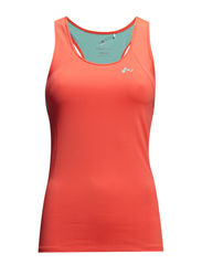 PLAY HELOISE TRAINING TANK TOP - Fiery Coral