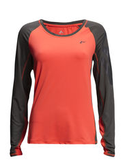 PLAY MARIETTE LS TRAINING TEE - Fiery Coral