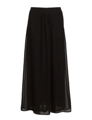 IBEN LONG SKIRT WVN - Black