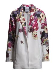 onlELAINE AOP SPRING COAT  OTW - Cloud Dancer