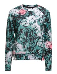 onlNEO FLOWER L/S ZIP SWEAT D2 JRS - North Atlantic