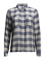 onlMAURICE L/S SHIRT WVN - Grisaille