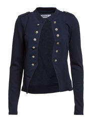 onlANETTE MILITARY SWEAT BLAZER SWT RR4 - Navy Blazer