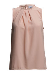 onlTIMMY S/L TOP WVN - Peach Melba