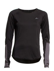 onpLACY LS TRAINING TEE - Black