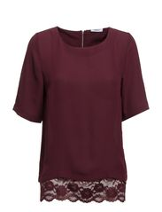 onlNORA LACE 2/4 TOP WVN - Winetasting