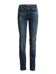 onlLENE REG STRJEANS RIME3414B DNM NOOS - Medium Blue Denim