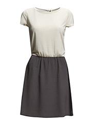 onlNANSY MIX DRESS WVN - Pumice Stone