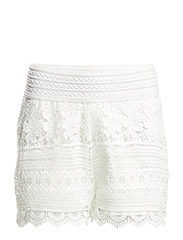 onlARIA SHORTS WVN - Cloud Dancer