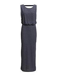onlNEW BELLE S/L LONG DRESS JRS - Mood Indigo