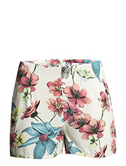 onlLARA HIGH WAIST SHORTS WVN - Cloud Dancer