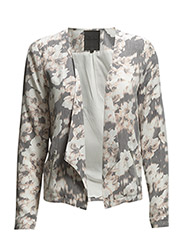 onlBLACKBIRD FLOWER L/S DRAPY BLAZER WVN - Cloud Dancer