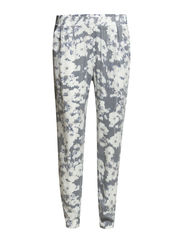 onlBLACKBIRD LOOSE PRINT PANT WVN - Cloud Dancer