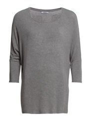 onlDENNI WINGS 3/4 TOP JRS - Light Grey Melange