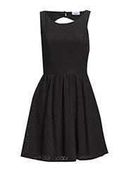 onlFAIRY NEW S/L LACE DRESS WVN - Black