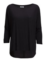onlBELLE 3/4 LOOSE  TOP ESS - Black