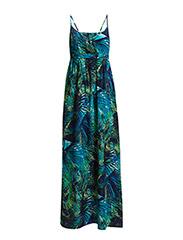 onlCHOICE S/L MAXI DRESS WVN - Limelight