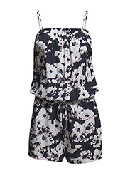 onlCHOICE S/L PLAYSUIT WVN - Cloud Dancer