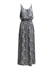 onlSKY S/L LONG DRESS WVN - Black