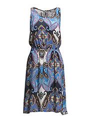 onlCHOICE S/L SARAH PLACKET DRESS - Amparo Blue