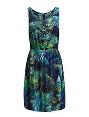 onlCHOICE S/L SARAH PLACKET DRESS - Limelight