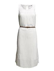 onlRONJA SHORT DRESS WVN - Cloud Dancer