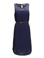 onlRONJA SHORT DRESS WVN - Medieval Blue
