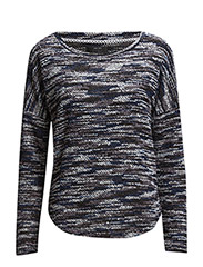 onlTRACY L/S O-NECK SWT - Peacoat