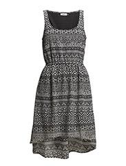 onlBETINNE MERLE SL SHORT DRESS WVN - Black
