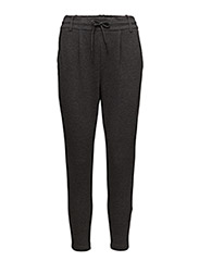 onlPOPTRASH EASY COLOUR PANT PNT NOOS - DARK GREY MELANGE