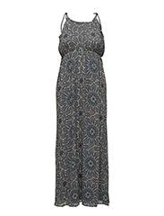 onlAURA S/L MAXI DRESS WVN - PEYOTE