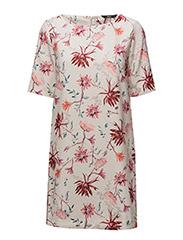onlBARBARA 2/4 SHORT DRESS WVN - PINK TINT