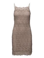onlCATALINA STRAP KNEE DRESS WVN - ETHEREA