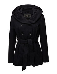 onlMARY LISA SHORT WOOL COAT CC OTW - NIGHT SKY