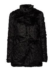 onlVIVA FUR COAT OTW - BLACK