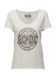 onlROCK S/S ACDC/ROLLING TOP BOX ESS - CLOUD DANCER