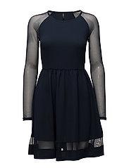 onlNEWMONA S/L DRESS JRS - NAVY BLAZER
