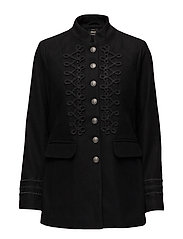onlVERA WOOL BAND JACKET OTW - BLACK