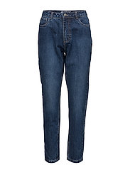 onlKELLY MOM DNM JEANSBJ10461 - DARK BLUE DENIM