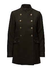 onlHANNAH MILITARY WOOL COAT OTW - PEAT