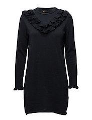 onlYASMIN L/S DRESS KNT - SKY CAPTAIN