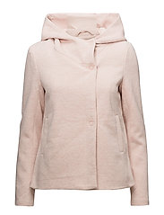 onlFAIRY MEL HOODED SHORT JACKET CC OTW - ROSE SMOKE
