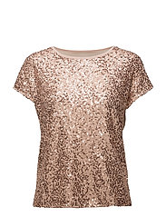 onlZILLE S/S TOP JRS - CAMEO ROSE
