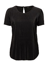 onlLIGA S/S TOP WVN - BLACK