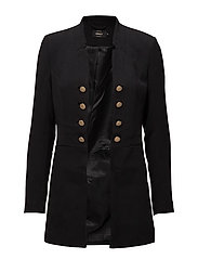 onlJEMINA L/S MILITARY BLAZER SOLID TLR - BLACK