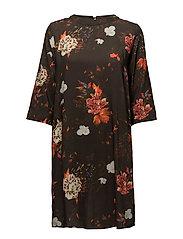 onlTERA 7/8 SHORT DRESS WVN - PEAT