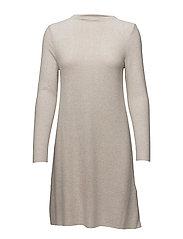 onlKLEO L/S DRESS KNT NOOS - HAZELNUT