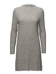 onlKLEO L/S DRESS KNT NOOS - LIGHT GREY MELANGE
