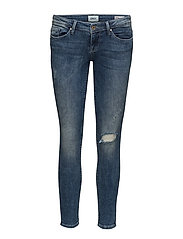 onlCORAL SL SKINNY ANKLE JEANS CRE169189 - MEDIUM BLUE DENIM