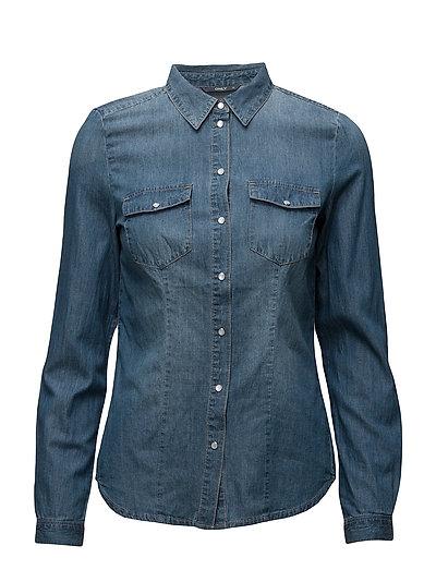 Onlrock It Fit Mb Dnm Shirt Bj7887 Noos (Medium Blue Denim) (29.99 €) - ONLY  | Boozt.com